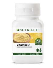 Suplemento de vitamina D Nutrilite alimentos orgánicos sistema inmunológico la piel y la salud de los huesos