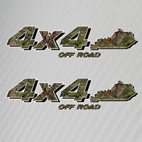 4x4 Truck Off Road Kentucky Hunting Deer Camo Decal Ford Chevy GMC Dodge Toyota