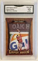 2014 Topps Gypsy Queen Bryce Harper #GS-BH Glove Stories Graded GMA Gem Mint 10