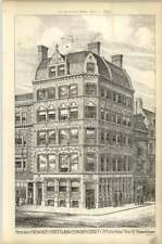 1878 Premises Newgate Street, King Edward Street, City John Mixer, Bank