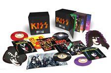 KISS Casablanca Singles 1974-1982 45 LP Record Box Set Colored Vinyl & Book NEW!