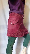 Wrap Pocket Skirt, Fairy, Boho,Elven, Tribal, Pixie, Festival, Goa, SteamPunk