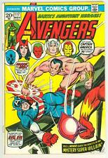 AVENGERS 117 5.0 VISION BLACK PANTHER GIANT MAN NICE PAGES RC