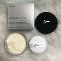 IT Cosmetics Bye Bye pores face pressed powder Translucent Loose Powder finish