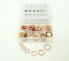 "Fits Buick 81PC 1/4"" - 5/8"" Brake Hose Caliper Copper Sealing Washer Kit  NOS"
