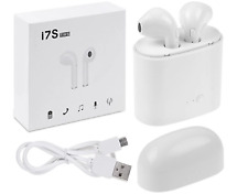 i7S TWS Wireless Bluetooth Earbuds Earphone W/Charger Box for iPhone Samsung