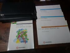 Vauxhall Astra 1998/1999 Book Pack, Owners Manual, Folder