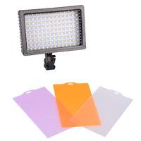 Pro Studio CN-126 LED Video Light For Canon Nikon DSLR Camera DV Camcorder
