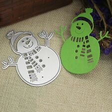 Snowman Cutting Dies Stencil Scrapbooking Embossing Album Paper Decor Crafts DIY