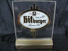 INSEGNA BIRRA BITBURGER PREMIUM PILS BIER OLD SIGN LUMINOSA