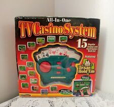 Techno Source TV CASINO GAME SYSTEM Plug & Play on TV ~ New In Box Sealed