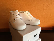 Toddler Girls Boy Shoes White Leather US Size 5 Compared Stride Rite Walkers