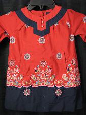BABY GAP ST PETERSBURG RED RUSSIA RUSSIAN DRESS 3-6 EEUC