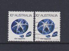 Australia 1974 SG552a Star Sapphire Gemstone definitivo Gomma integra, non linguellato & utilizzati