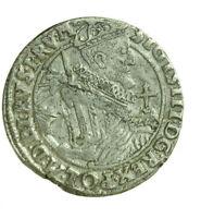 pci0649) POLONIA - Sigismondo III (1587-1632) - 1/4 di tallero 1621 -  AG RRR