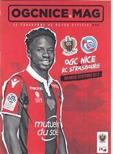 OGC Nice v  RC Strasbourg 2017/18 (22 Oct)