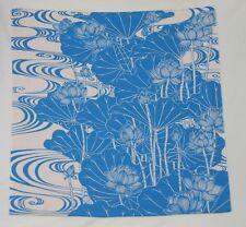 Furoshiki Lotus Blue 68cm x 70cm