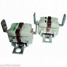 WHIRLPOOL Tumble Dryer Heater THERMOSTATS x 2 Spares BN