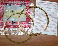 Wiseco 3484TD Piston Ring Set 88.50mm YAMAHA WR500 91-93 et autres motos