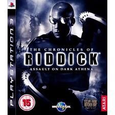 The Chronicles Of Riddick: Assault On Dark Athena ~ Ps3 (en Perfectas Condiciones)