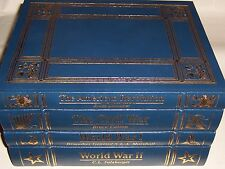 easton press AMERICAN HERITAGE HISTORY OF WARS 4v Revolution Civil War WWI WWII