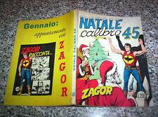 ZAGOR ZENITH N.105 ORIGINALE DEL 1969 MB/OTTIMO TIPO TEX MARK ARALDO DOG RANGER