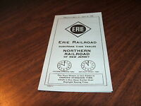 APRIL 1946 ERIE RAILROAD FORM 9 NORTHERN RAILROAD OF NEW JERSEY