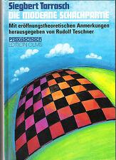 Schachbuch: Tarrasch  Die moderne Schachpartie - Schach NEU !!
