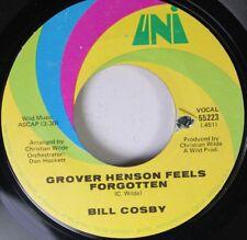 Soul 45 Bill Cosby - Grover Henson Feels Forgotten / Grover Henson Feels Forgott