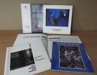 Cuadernos de arte lote de 5, cajamurcia, CAM, diversos artistas