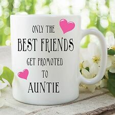 Humour Funny Novelty Mug Best Friends Auntie Kitchen Cup Work Gift WSDMUG261