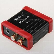 DC12V Wireless Bluetooth Audio Receiver Box RCA For Car Speaker Amplifier Modify