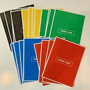 Lego Creator The Race To Build It Board Game Replacement Model Cards Parts 1999
