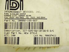 Interconnect Devices 100992-155-927 Pogo Pins ICT-S25-SW-10-DG-S 89 pcs