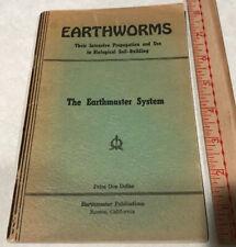 Earthworms The EarthMaster System Propagation Thomas J. Barrett Paperback 1946