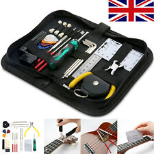 More details for guitar care cleaning repair tool kit luthier setup maintenance tools set i3x8
