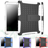 Pellicola+Custodia Rugged rinforzata p iPad Air 2 2014 cover stand doppio strato