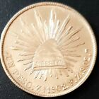 1902 ZACATECAS F.Z. MEXICO SECOND REPUBLIC Peso KM# 409.3 SILVER Nice Details!