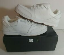 DC Shoes Syntax Skateboarding Shoes Sneakers White/Gum (WG5) Mens Size 10.5