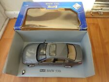 REVELL 1/18 CLASSIC BMW 530i GREY DIECAST MODEL CAR NEEDS TLC