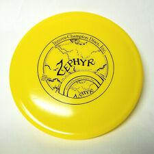 Innova Original Zephyr Yellow 142g Catch 'n Throw Mid Range Pat. Pending Disc