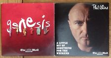 CD x2 - PHIL COLLINS / GENESIS - NEWSPAPER PROMOTION