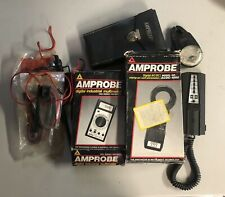 Lot Amprobe Model Acdc 1000 Am 4b Ultra Voltprobe Ammeter Vintage