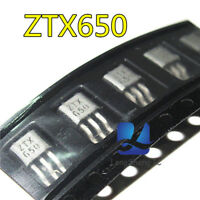 10pcs  ZETEX ZTX650 TO-92 NPN SILICON PLANAR MEDIUM POWER
