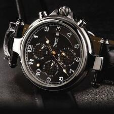STAUER Stainless Steel Noire Men's Watch - NEW!!!