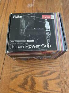 Vivitar Deluxe Power Battery Grip for Canon 70D / 80 D.   K2