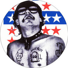 IMAN/MAGNET GG ALLIN . punk murder junkies antiseen poison idea ramones dead boy
