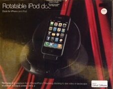 Marks & Spencer iPod iPhone Dock Rotatable Black NEW (F1)