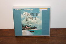 Eden Burning by Elizabeth Lowell Unabridged CD Audiobook Free Shipping