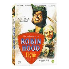 The Adventures Of Robin Hood (1938) DVD - Errol Flynn (*NEW *All Region)